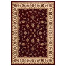home decorators collection claire red beige 7 ft 10 in x 10 ft