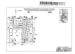 plat maps maps quail run north star home owners association
