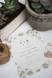 Succulent Wedding Invitations Kelli Murray Succulent Inspired Wedding Invitation
