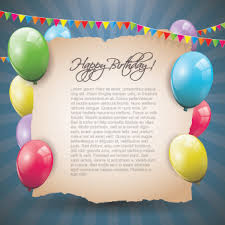 happy birthday greeting cards free vector 15 051 free