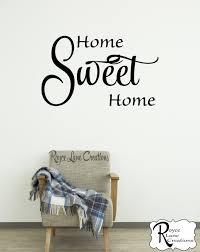 home sweet home decal rlc
