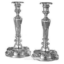 antique candlesticks silver pewter brass copper chrome