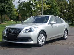 toyota sedan toyota crown royal saloon driving the u0027hybrid brougham u0027 luxury sedan