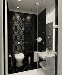 Catchy Door Design Catchy Japanese Modern Style Bathroom With Black Tiles And White