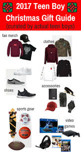 gifts for boys 2017 boy christmas gift guide chosen by real teenagers