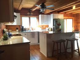 wood countertops custom made kitchen cabinets lighting flooring