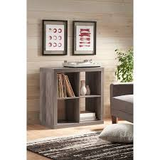 better homes and gardens home design software 8 0 better homes and gardens 4 cube organizer rustic gray finish