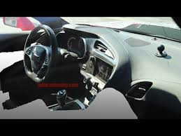 Corvette Zr1 Interior 2018 Chevrolet Corvette Zr1 Interior Revealed In Latest Spy Photos