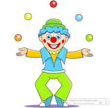 clowns juggling balls circus clipart joker clown juggling balls in air classroom clipart
