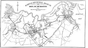 Map Of Middlesex County Nj Raritan River Light Rail