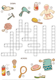 Free Printable Halloween Crossword Puzzles Crossword Puzzle For Girls Beauty And Bathroom Items Free