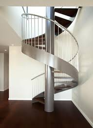 amazing modern curved staircase 7889