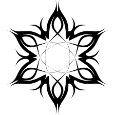 tribal tattoo flower vector 2 free vectors ui download