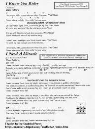 light of the world chords grateful ramblings grateful dead lyrics chord database grateful