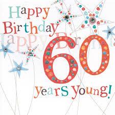 60 year birthday card happy 60th birthday cards gangcraft net