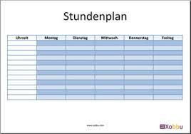 stundenplan designen stundenplan vorlagen designs zum ausdrucken