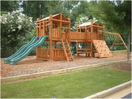 backyards wonderful backyard wooden playsets backyard images