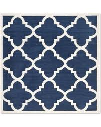 Square Indoor Outdoor Rugs Sale Safavieh Amherst Geo 7 X 7 Square Indoor Outdoor Rug