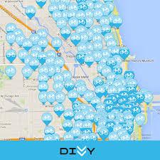 divvy chicago map chicago s divvy bike ux blue ion