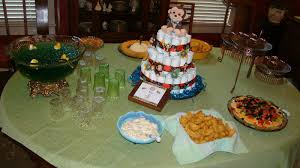 natural crafter monkey baby shower