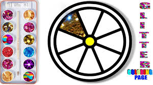glitter lemon coloring page how to draw apple super coloring