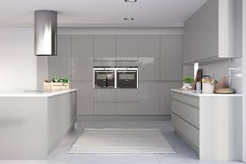 white gloss kitchen doors integrated handle italia j pull gloss modern kitchen masterclass kitchens