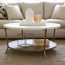marlton round coffee table threshold universal furniture playlist round cocktail table a mid mod beauty