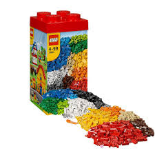 amazon com lego creative tower building kit xxl 1600 pieces 10664