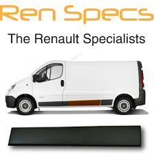 renault master 2001 genuine renault trafic 2001 2014 left sliding door moulding non