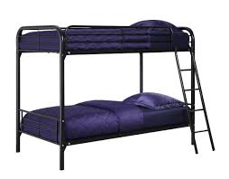 Black Bunk Beds Dhp Bunk Bed With Metal Frame And