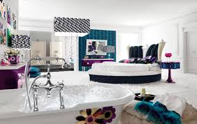 cozy white fur rug beautiful some drower room decor for teen girls