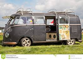 van volkswagen vintage vintage camper van editorial stock photo image 44226113