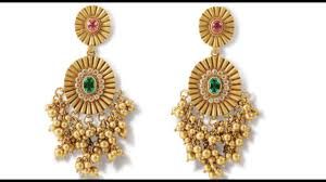 gold earrings for gold earrings designs collection for women