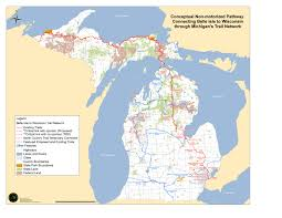 Map Of Wisconsin State Parks by Tbt Great Trails Great Lakes Great State