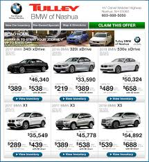 bmw employee lease program bmw lease offers tulley bmw of nashua