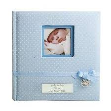 baby boy photo album baby photo albums baby keepsakes memories ebay