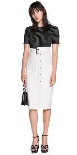 high waisted pencil skirt asymmetric high waist pencil skirt buy skirts online cue