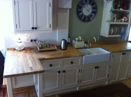 The Olive Branch Testimonial Nickys Kitchen Range Cooker With - Kitchen with belfast sink