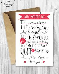 mothers day card 25 adorably honest s day cards huffpost