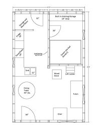 small house layout 16x24 pennypincher barn kits open floor diy cabin plan with a loft hallway storage bench plans