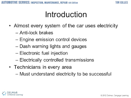 2012 delmar cengage learning basic electrical system theory and