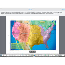 Mountain Time Zone Map by Sporty U0027s Study Buddy Iphone Ipad Aviation App Sport Pilot