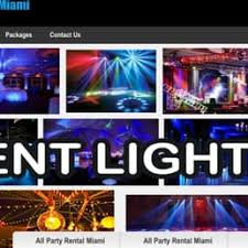 party rental hialeah all party rental miami 16 photos party equipment rentals