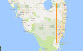 Florida Turnpike Map Miami U0027s Hard Rock Stadium Is Far From The Canes And South Beach