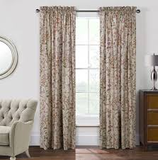 Floral Curtains Rockport Floral Curtains Paul S Home Fashions