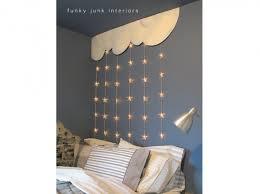 guirlande chambre enfant guirlande lumineuse chambre enfants funky junk interiors diy