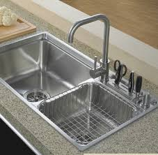 Kitchen Sink Basin by Two Bowls Handmade Kitchen Use 304 Stainless Steel Skirt Sink