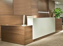 L Shaped Reception Desks Contrasts Custom L Shaped Reception Desks Direct Office Solutions