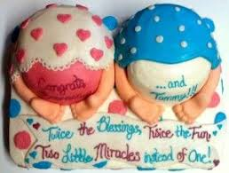 47 best twins baby shower cake images on pinterest twin baby