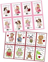 kids valentines cards free printable cards for kids